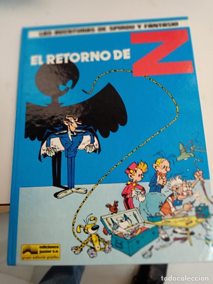 X SPIROU Y FANTASIO 18. EL RETORNO DE Z (GRIJALBO) (Tebeos y Comics - Grijalbo - Spirou)