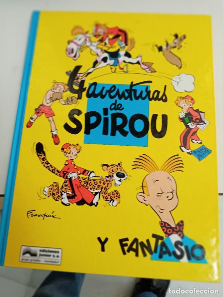 X SPIROU Y FANTASIO 30. 4 AVENTURAS DE SPIROU Y FANTASIO (GRIJALBO) (Tebeos y Comics - Grijalbo - Spirou)