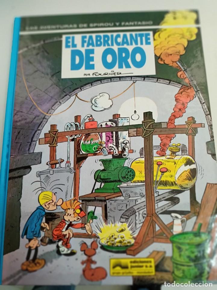 X SPIROU Y FANTASIO 33. EL FABRICANTE DE ORO (GRIJALBO) (Tebeos y Comics - Grijalbo - Spirou)