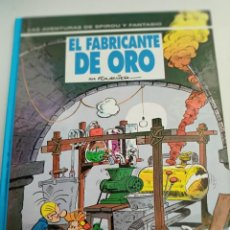 Cómics: X SPIROU Y FANTASIO 33. EL FABRICANTE DE ORO (GRIJALBO). Lote 244021410