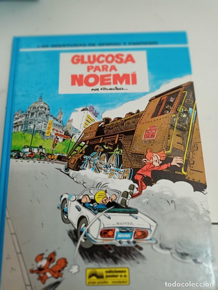 X SPIROU Y FANTASIO 34. GLUCOSA PARA NOEMI (GRIJALBO) (Tebeos y Comics - Grijalbo - Spirou)