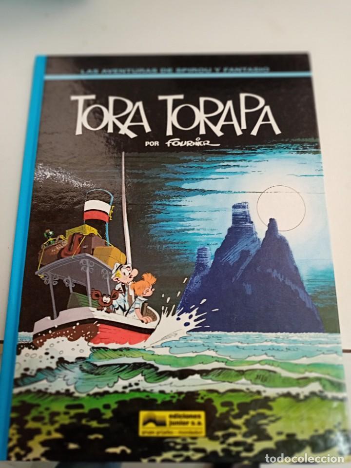 X SPIROU Y FANTASIO 36. TORA TORAPA (GRIJALBO) (Tebeos y Comics - Grijalbo - Spirou)