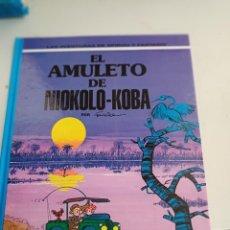 Cómics: X SPIROU Y FANTASIO 37. EL AMULETO DE NIOKOLO-KOBA (GRIJALBO). Lote 244021685