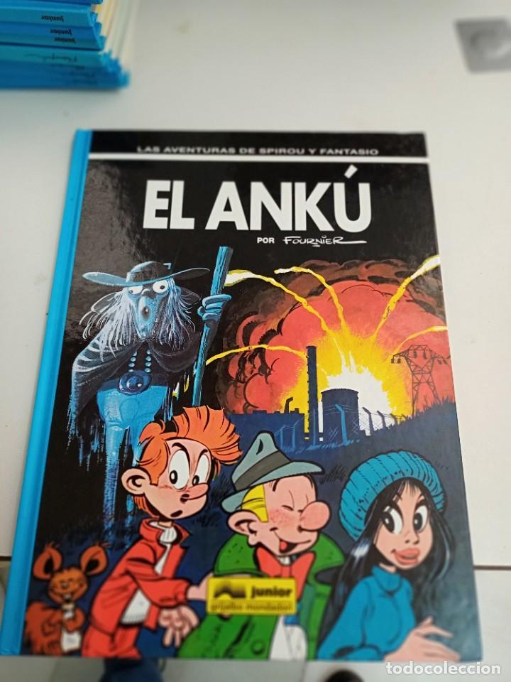 X SPIROU Y FANTASIO 39. EL ANKU (GRIJALBO) (Tebeos y Comics - Grijalbo - Spirou)