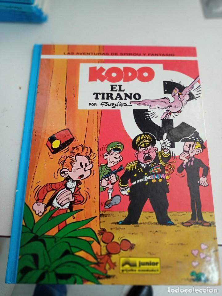 X SPIROU Y FANTASIO 40. KODO EL TIRANO (GRIJALBO) (Tebeos y Comics - Grijalbo - Spirou)