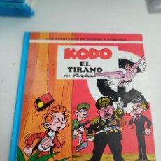 Cómics: X SPIROU Y FANTASIO 40. KODO EL TIRANO (GRIJALBO). Lote 244021850