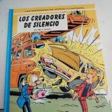 Cómics: X SPIROU Y FANTASIO 45. LOS CREADORES DEL SILENCIO (GRIJALBO). Lote 244022290