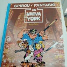 Comics: X SPIROU Y FANTASIO 25. SPIROU Y FANTASIO EN NUEVA YORK (GRIJALBO). Lote 244022515