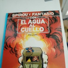 Cómics: X SPIROU Y FANTASIO 26. CON EL AGUA AL CUELLO (GRIJALBO). Lote 244022600