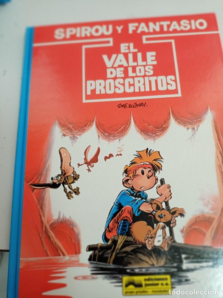 X SPIROU Y FANTASIO 27. EL VALLE DE LOS PROSCRITOS (GRIJALBO) (Tebeos y Comics - Grijalbo - Spirou)