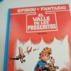 Comics: X SPIROU Y FANTASIO 27. EL VALLE DE LOS PROSCRITOS (GRIJALBO). Lote 244022700