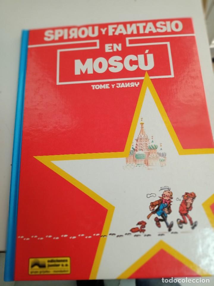 X SPIROU Y FANTASIO 28. SPIROU Y FANTASIO EN MOSCU (GRIJALBO) (Tebeos y Comics - Grijalbo - Spirou)