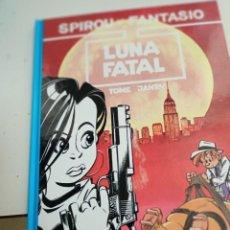 Cómics: X SPIROU Y FANTASIO 42. LUNA FATAL (GRIJALBO). Lote 244022935
