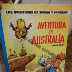 Cómics: AVENTURA EN AUSTRALIA. SPIROU Y FANTASIO. GRIJALBO. Lote 244611360