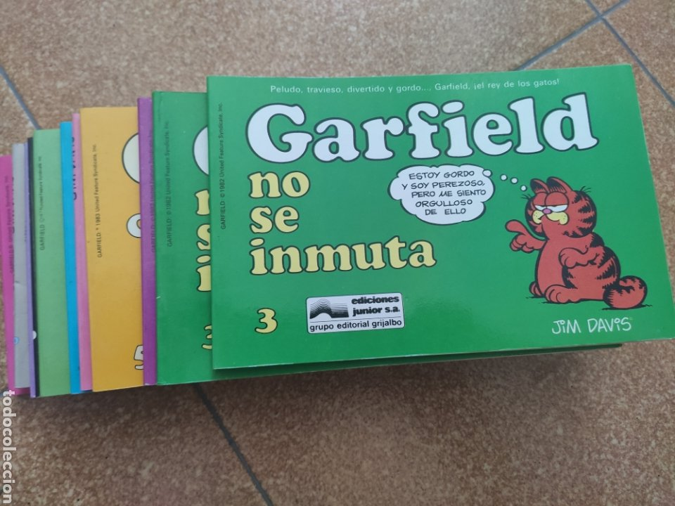 Cómics: Lote once números Garfield. Grijalbo. Junior - Foto 3 - 244641925