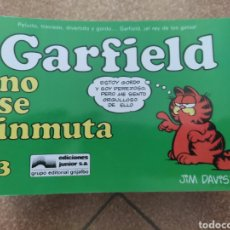Cómics: LOTE ONCE NÚMEROS GARFIELD. GRIJALBO. JUNIOR. Lote 244641925