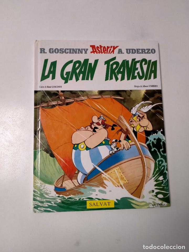 ASTÉRIX LA GRAN TRAVESÍA NÚMERO 22 EDITORIAL SALVAT 1999 (Tebeos y Comics - Grijalbo - Asterix)