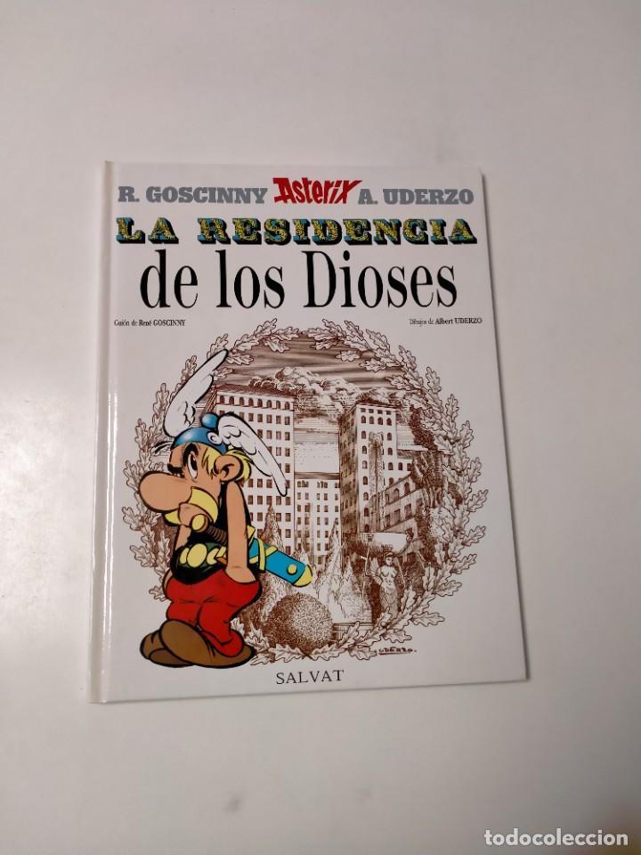 ASTÉRIX LA RESIDENCIA DE LOS DIOSES NÚMERO 17 EDITORIAL SALVAT 1999 (Tebeos y Comics - Grijalbo - Asterix)