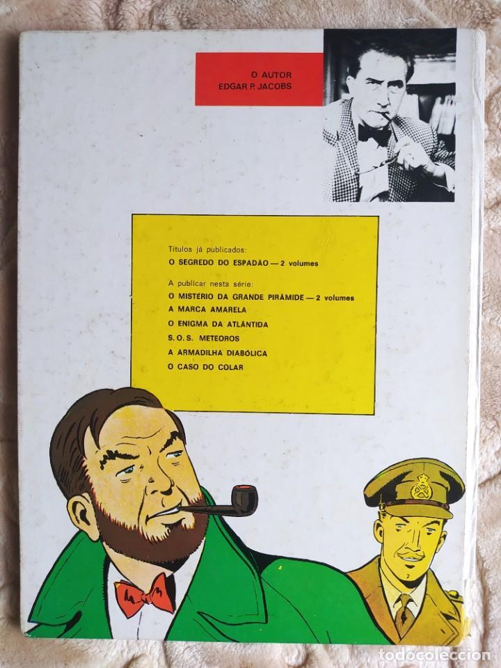 Cómics: Aventuras de Blake e Mortimer - O Segredo do Espadao - SX1 contra-ataca - Vol 2 - Livraria Bertrand - Foto 2 - 245056080
