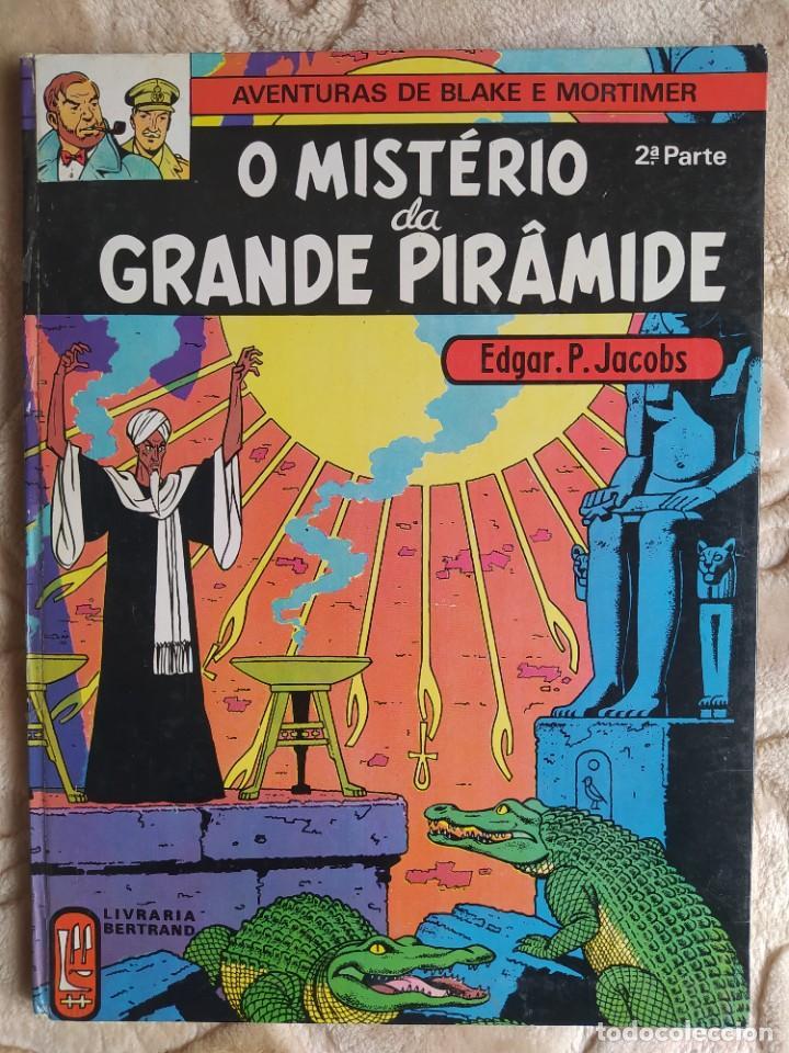 AVENTURAS DE BLAKE E MORTIMER - O MISTÉRIO DA GRAND PIRAMIDE - 2ª PARTE - LIVRARIA BERTRAND (Tebeos y Comics - Grijalbo - Blake y Mortimer)
