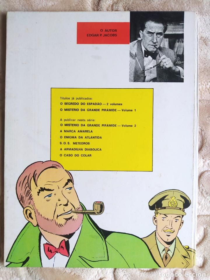 Cómics: Aventuras de Blake e Mortimer - O Mistério da Grand Piramide - 1ª parte - Livraria Bertrand - Foto 2 - 245057245