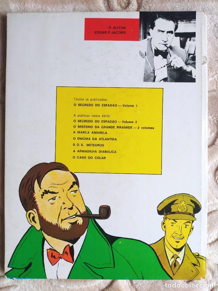 Cómics: Aventuras de Blake e Mortimer - O Segredo do Espadao - A perseguicao fantastica - Vol 1 - Bertrand - Foto 2 - 245058265