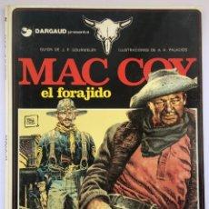 Cómics: MAC COY - EL FORAJIDO - PALACIOS. Lote 245131610