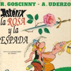 Cómics: ASTÉRIX. LA ROSA Y LA ESPADA - GOSCINNY Y UDERZO - EDICIONES JUNIOR - GRIJALBO - 1991.. Lote 245391825