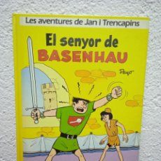 Cómics: LES AVENTURES DE JAN I TRENCAPINS. EL SENYOR DE BASENHAU. EDICIONES JUNIOR. AÑO 1986. EN CATALÁN.. Lote 245539590