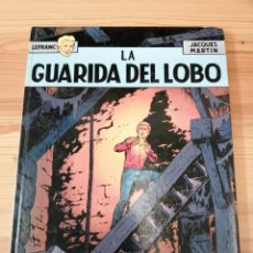 Cómics: LA GUARIDA DEL LOBO, JACQUES MARTÍN, JUNIOR GRIJALBO 1986, COMIC. Lote 245770555