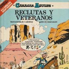 Cómics: RECLUTAS Y VETERANOS - CASACAS AZULES - CAUVIN SALVERIUS - GRIJALBO. Lote 246057790