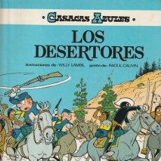 Cómics: LOS DESERTORES - CASACAS AZULES - CAUVIN SALVERIUS - GRIJALBO. Lote 246058345
