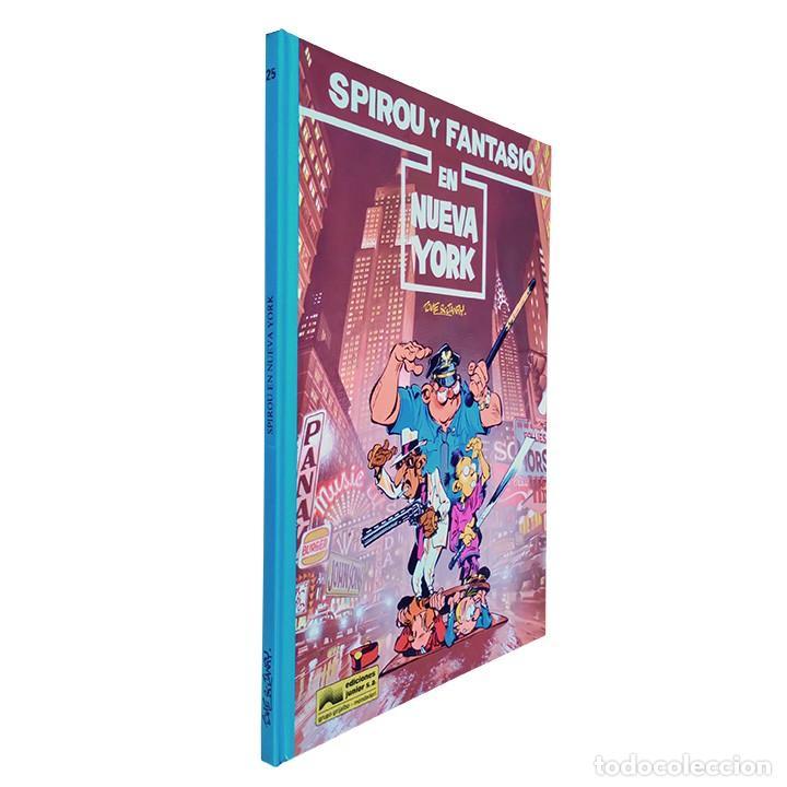 SPIROU Y FANTASIO EN NUEVA YORK / SPIROU Y FANTASIO Nº 25 / JUNIOR GRIJALBO 1991 (TOME & JANRY) (Tebeos y Comics - Grijalbo - Otros)