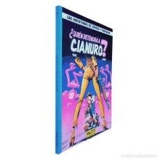 Cómics: ¿QUIÉN DETENDRÁ A CIANURO? / LAS AVENTURAS DE SPIROU Y FANTASIO Nº 21 / GRIJALBO 1989 (TOME & JANRY). Lote 246176540