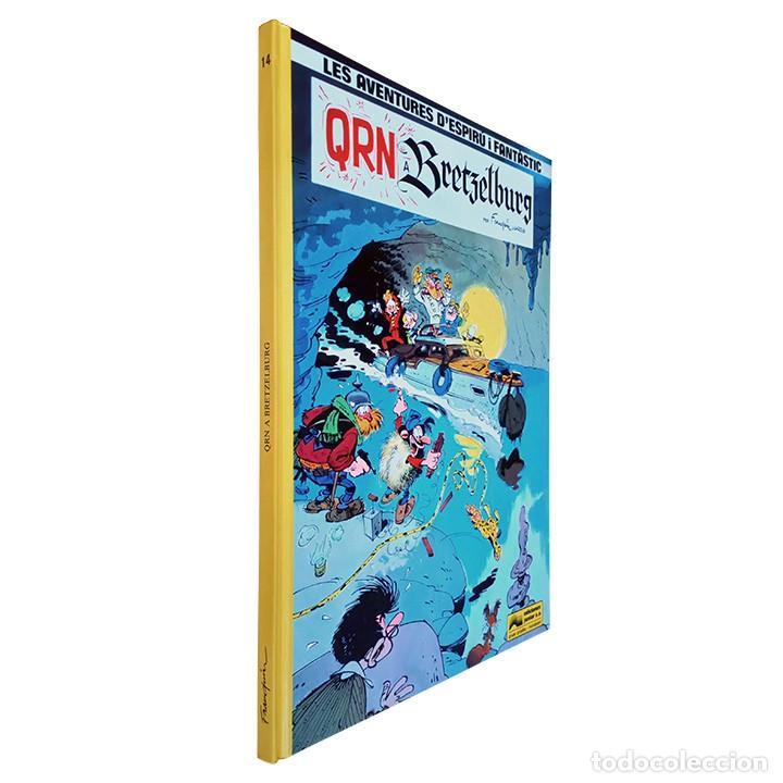 QRN A BRETZELBURG / SPIROU Y FANTASIO / ESPIRÚ I FANTÀSTIC Nº 14 (CATALÀ) 1990 FRANQUIN (Tebeos y Comics - Grijalbo - Otros)