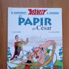 Cómics: ASTERIX, EL PAPIR DEL CÈSAR (EN CATALÀ), DE FERRI I CONRAD. Lote 246218950