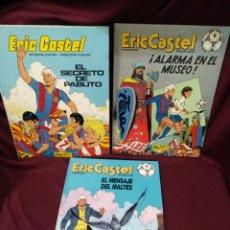 Fumetti: ERIC CASTEL LOTE DE 3 TBOS, N° 14,15 Y 6, FUTBOL. Lote 246247755