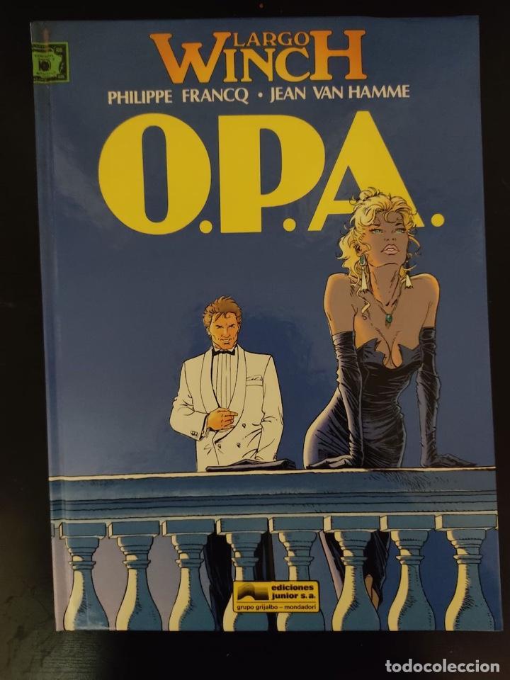 LARGO WINCH Nº 3: O.P.A., DE FRANCQ Y VAN HAMME ( GRIJALBO JUNIOR, 1993) BUEN ESTADO (Tebeos y Comics - Grijalbo - Largo Winch)
