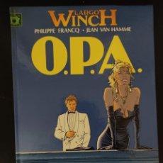 Cómics: LARGO WINCH Nº 3: O.P.A., DE FRANCQ Y VAN HAMME ( GRIJALBO JUNIOR, 1993) BUEN ESTADO. Lote 246362885