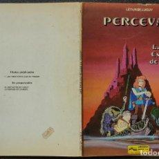 Cómics: PERCEVAN Nº 1 - LAS TRES ESTRELLAS DE INGAAR - LETURGIE.LUGUY - GRIJALBO. Lote 246446935