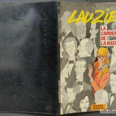 Cómics: LAUZIER - Nº 5 - LA CARRERA DE LA RATA - GRIJALBO / DARGAUD. Lote 246492010