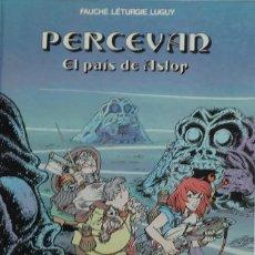 Fumetti: FAUCHE, LÉTURGIE, LUGUY. PERCEVAN Nº 4. EL PAÍS DE ASLOR. GRIJALBO 1986. Lote 246615475