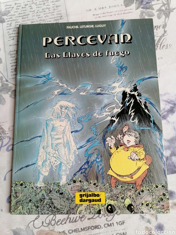 CÓMIC PERCEVAN VOL 6: LAS LLAVES DE FUEGO. GRIJALBO (Tebeos y Comics - Grijalbo - Percevan)