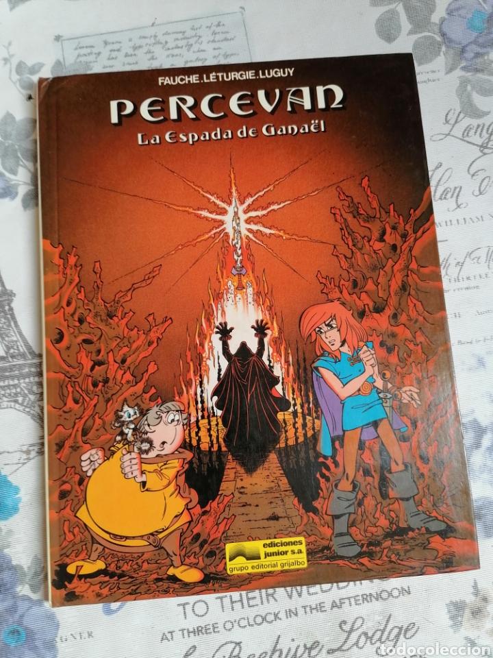 CÓMIC PERCEVAN VOL 3 : LA ESPADA DE GANAEL EDICIONES JUNIOR (Tebeos y Comics - Grijalbo - Percevan)
