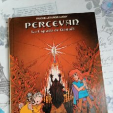 Cómics: CÓMIC PERCEVAN VOL 3 : LA ESPADA DE GANAEL EDICIONES JUNIOR. Lote 246701420
