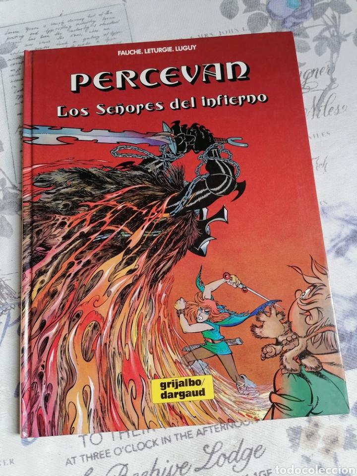 CÓMIC PERCEVAN VOL 7: LOS SEÑORES DEL INFIERNO. GRIJALBO (Tebeos y Comics - Grijalbo - Percevan)