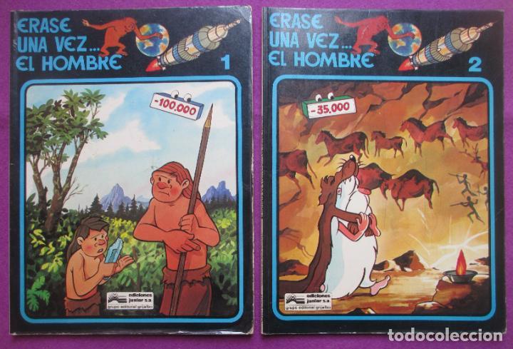 Cómics: COLECCION COMPLETA TEBEOS ERASE UNA VEZ... EL HOMBRE 13 TEBEOS - Foto 3 - 246909045