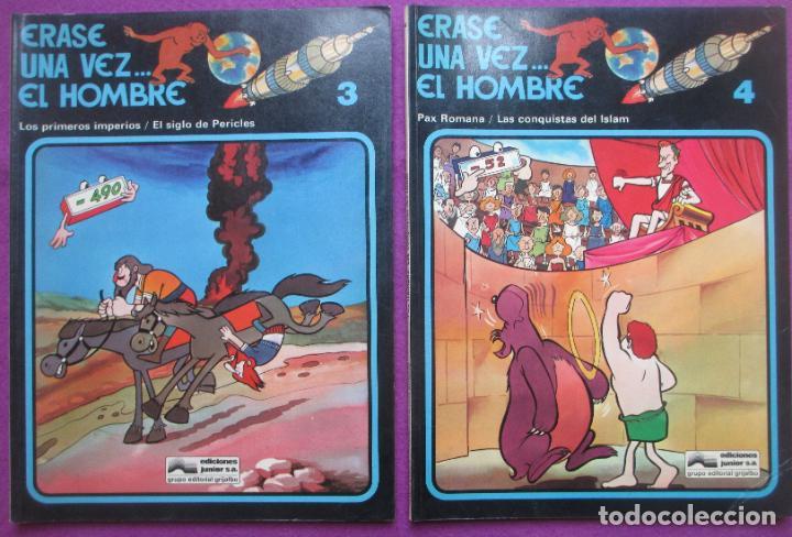Cómics: COLECCION COMPLETA TEBEOS ERASE UNA VEZ... EL HOMBRE 13 TEBEOS - Foto 6 - 246909045