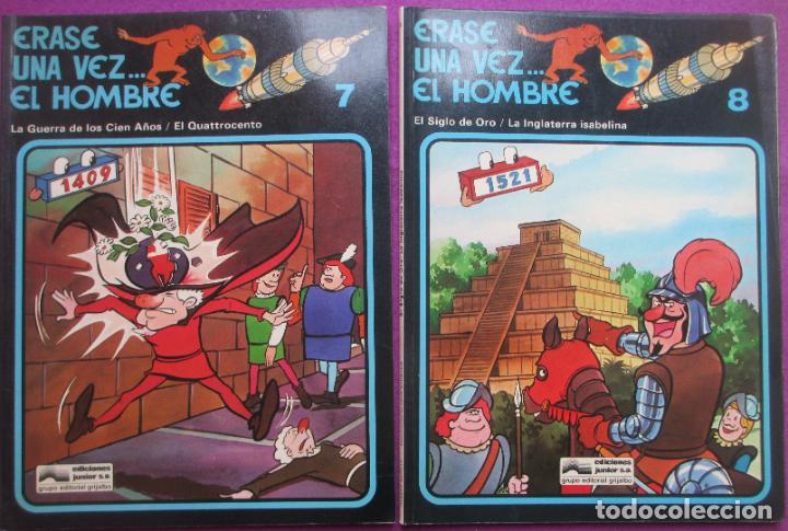 Cómics: COLECCION COMPLETA TEBEOS ERASE UNA VEZ... EL HOMBRE 13 TEBEOS - Foto 10 - 246909045