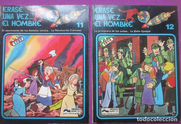Cómics: COLECCION COMPLETA TEBEOS ERASE UNA VEZ... EL HOMBRE 13 TEBEOS - Foto 14 - 246909045